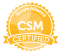 ScrumAlliance CSM Certified
